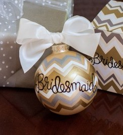 Bridesmaid-Ornament